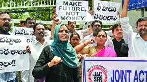HSPA figh against loot by private schools